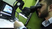 gözlük ve mikroskop